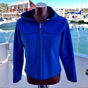 Nike Double sided Therma Fit Blue/Black Jacket